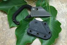 Hideaway Knives HAK S30v Midnight Straight