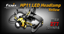 Fenix HP11 LED Headlamp (Yellow)