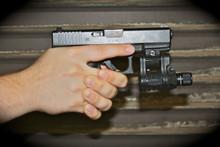 Tactical Flashlight Gun Mount  (Small)