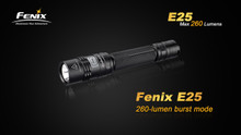 Fenix E25 LED Flashlight Upgrade With Burst