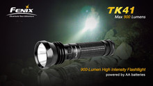 Fenix TK41 LED Flashlight & Charger Package