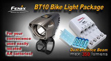 Fenix BT10 LED Bike Light Package