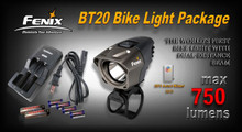 Fenix BT20 LED Bike Light Package