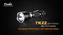 Fenix TK22 LED Flashlight/Charger Pkg.