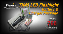 Fenix TK45 LED Flashlight Package