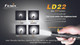 Fenix LD22G2 LED Flashlight Modes