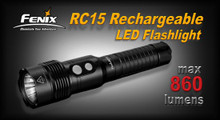 Fenix RC15 Rechargeable LED Flashlight