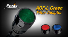 Fenix AOF-L Filter Adapter - Green