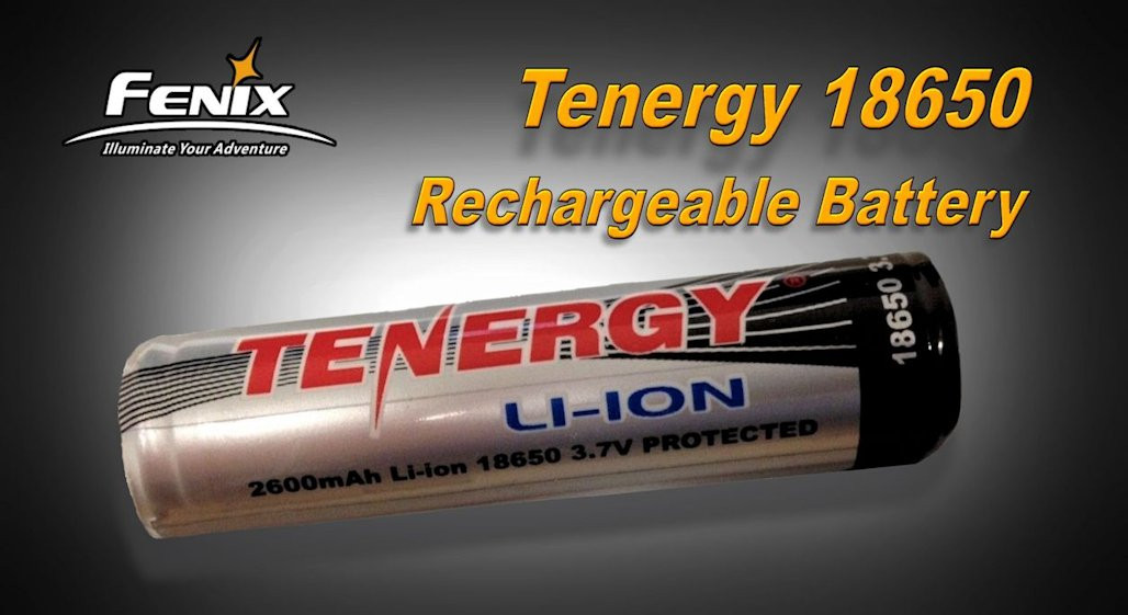 Tenergy 18650 Battery