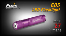 Fenix E05 LED Flashlight (Purple)