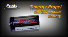 CR123A Tenergy Propel 3v w/PTC Lithium Battery