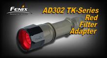 Fenix AD302 TK-Series Red Filter Adapter