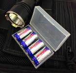 Battery Storage Case 4 CR123 Batteries