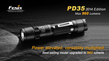 Fenix PD35 LED Flashlight - 2014 Edt.