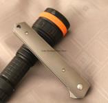 Boker Plus Kwaiken Titanium Flipper Folding Knife - VG10