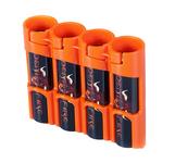 StorAcell Slimline 18650 4-Pack Case (Orange)
