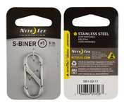 Nite Ize S-Biner Size 1 - Stainless Steel