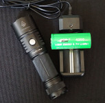 Fenix PD40 LED Flashlight Charger/Battery Pkg.