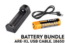 Fenix ARE-X1 Charger and 2300mAh 18650 Battery