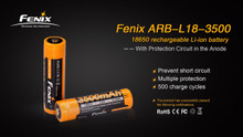 Fenix ARBL18 High-Capacity 18650 Battery - 3500mAh