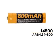 Fenix ARB-L14-800 14500 Battery - RETURN