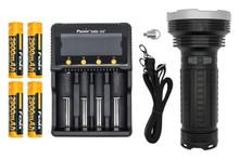 Fenix TK75 LED Flashlight Charger and Batteries Bundle