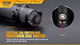 Fenix TK20R Rechargeable Tactical Flashlight Switches