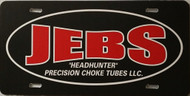Jebs Front License Plate Tag