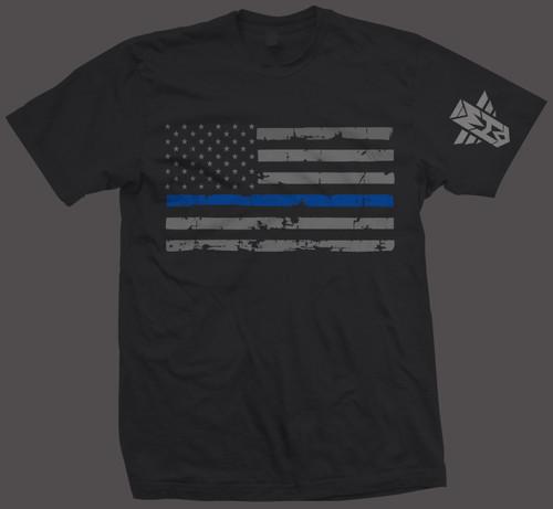 FLAG BLUE LINE