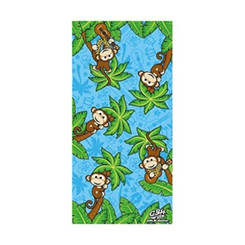 Hawaiian Beach Towel Monkey Music