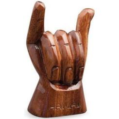 Hawaiian Figurine Shaka Hand 4 Inch