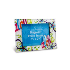 Bold Aloha Photo Frame Magnet