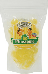 Hawaii Hard Candy Pineapple 4 Bags 8 Oz. Each