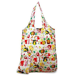 2 Foldable Reusable Hawaii Shopping Tote Bags Island Yumi Pink