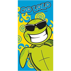 Hawaii Beach Towel Go Lolo Honu Turtle