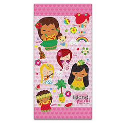 Hawaii Beach Towel Island Yumi