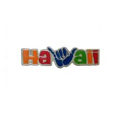 Hawaiian Metal Magnet Shaka