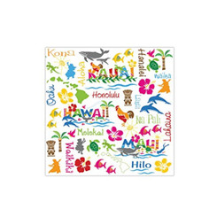 Hawaiian Adventures Cocktail Napkins