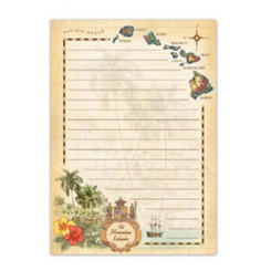 The Hawaiian Islands Notepad