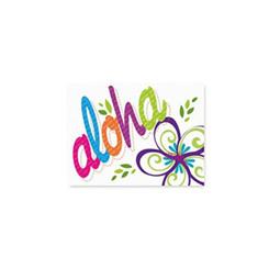 Bold Aloha Mahalo Cards 10 Pack