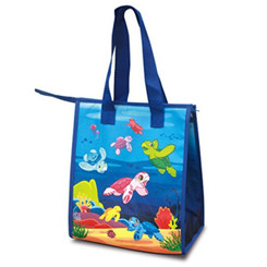 Small Non-Woven Insulated Lunch Bags Honu Ohana