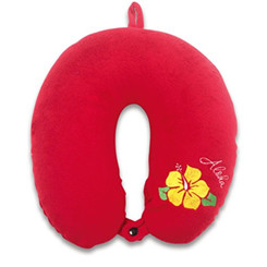 Travel Neck Pillow Aloha Hibiscus