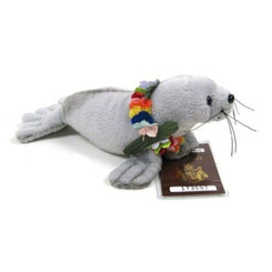 Hawaiian Soft Plush Animal Umo the Monk Seal
