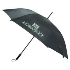 Umbrella University Of Hawaii Black, Green