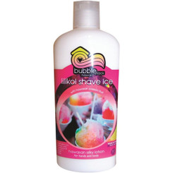 Hawaii Bubble Shack Kukui And Shea Silky Hand & Body Lotion Passion Fruit Lilikoi Shave Ice 4 Bottles