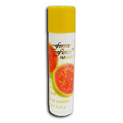 Hawaii Forever Florals Lip Balm Stick Ginger Guava 8 Pack