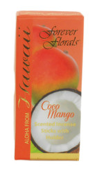 Hawaiian Forever Florals Incense Gift Box 8 Sets Coconut Mango
