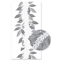 Hawaiian Candy Lei Kits 6 Pack Maile Silver