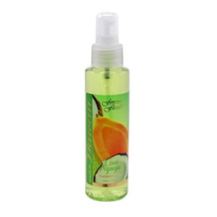 Hawaii Forever Florals Body Fragrance Mist Or Air Freshener 4 Oz. Coco Papaya 4 Bottles