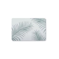 Palm Leaves Sage Translucent Placemat Set of 4